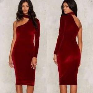 Nasty Gal - One Shoulder Dress